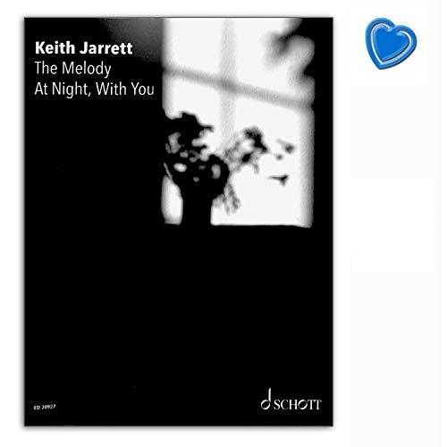 The Melody At Night, With You - Spielbuch für Klavier - Keith Jarrett - Schott Music ED20927 9783795719432