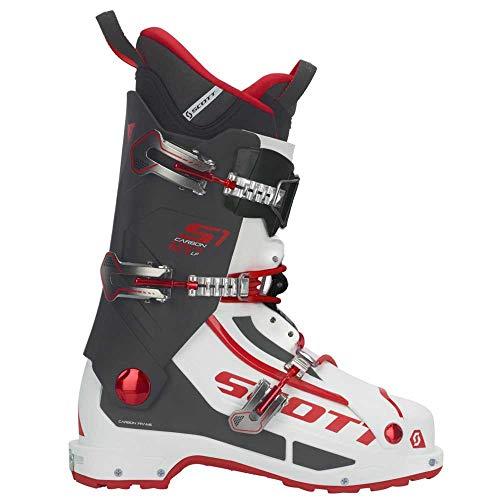 SCOTT INVIERNO Bota Esqui S1 Carbon Longfiber White/Red 26.0/40.0