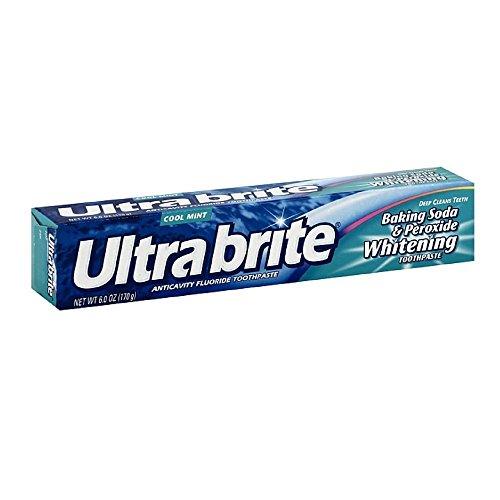 Ultra Brite Bk Sda Size 6z Ultrabrite Baking Soda & Peroxide Whitening Toothpaste, Pack of 2