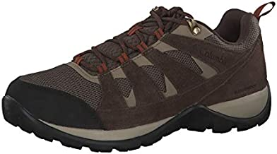 Columbia Men's Redmond V2 Waterproof Hiking Shoe, Mud/Dark Adobe, 11.5