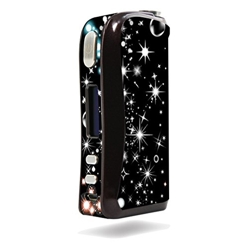 Decal Sticker Skin WRAP Vinyl Print Shining Stars and Bubbles Sticker NOT A Vape for Aspire Pegasus