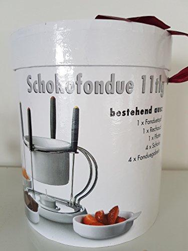 Domestic chocolade fondue chocolade 11tlg