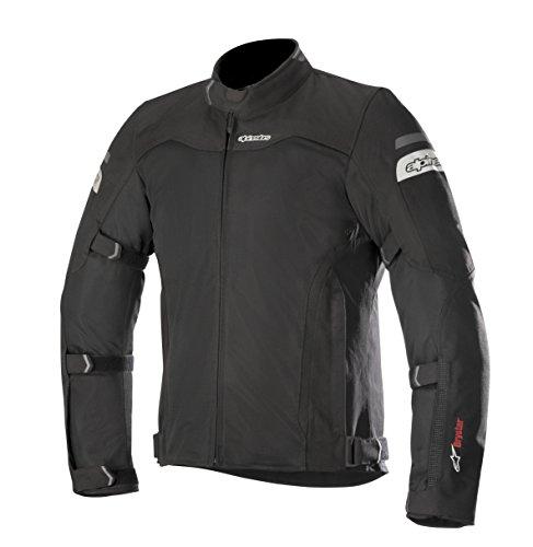Alpinestars Leonis Drystar Air - Chaqueta de moto para hombre, color negro, XL
