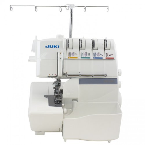 JUKI MO-735 is 5 thread serger with coverstitch