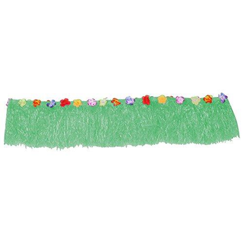 Cubierta de mesa colorida para el hogar Falda de mesa de Luau hawaiana Falda de mesa para mesas rectangulares Decoración de fiestas para vacaciones Cumpleaños Boda Fiesta(7#)