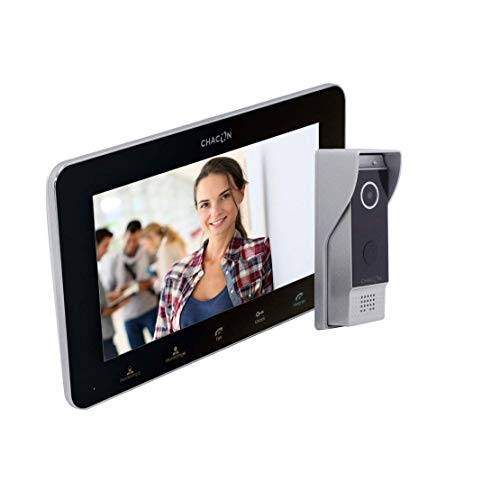 Chacon Videophone IP 2 hilos, WIFI, 7' color Negro