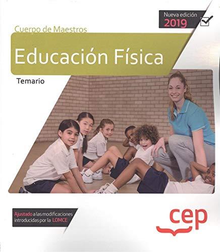 Cuerpo de maestros educacion fisica temario