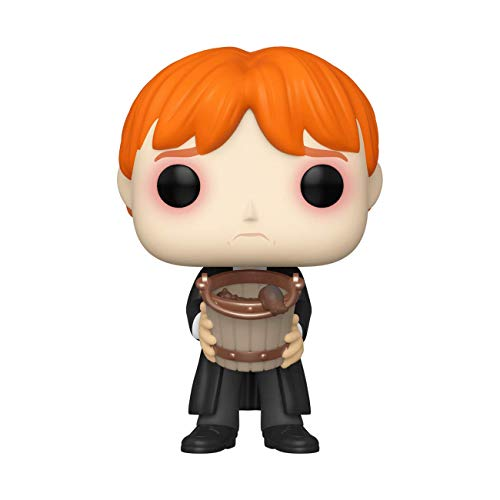 Funko Pop! Harry Potter: Harry Potter - Ron Puking Slugs w/Bucket, Multicolor, Estándar