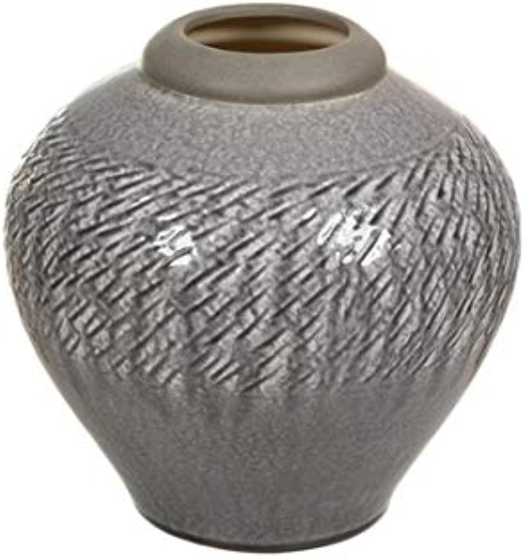 Dabudae Vase en céramique gris Clair