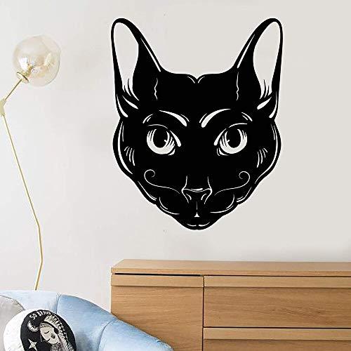 N\A Animal romántico extraíble Arte Vinilo Etiqueta de la Pared habitación de los niños decoración del hogar Pegatina Mural
