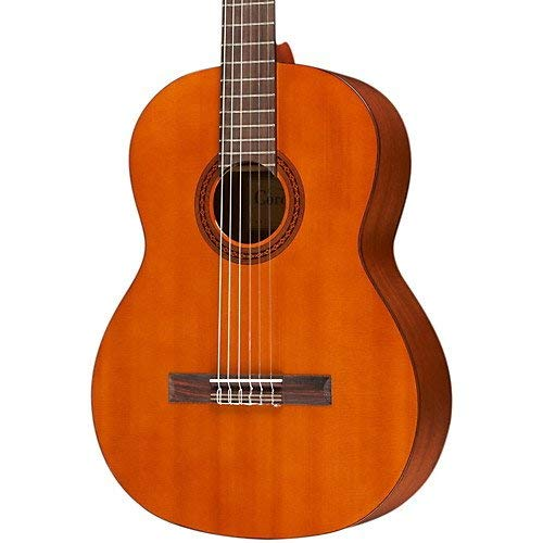 Cordoba C5 Classical Nylon String Acoustic Guitar Bundle with Deluxe Cordoba Gig Bag and Tuner