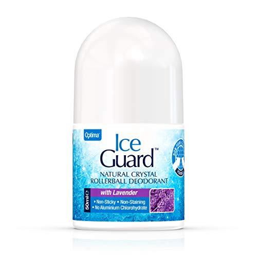 Optima Deodorant Roll-On Ice Guard Lavender 50 ml, Preis/100 ml: 15.9 EUR