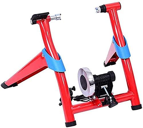 Plataforma de bicicleta controlada por línea de bicicleta, entrenador magnético plegable para bicicleta, compatible con 26 a 28 pulgadas y 700C portabicicletas