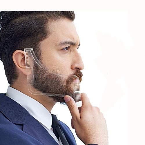 Comb Tool Bart Schablone Konturen Wie Vom Barbier Transparente Schablone Schnelle Rasur Der Bartlinien Bartkamm Rasierhilfe Bart Rasur