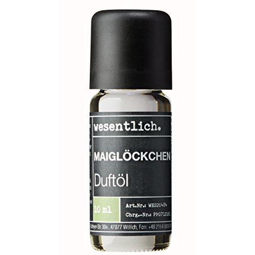 Duftöl Maiglöckchen - Aromaöl u.a. für Duftlampe & Diffuser - Premium Raumduft von wesentlich. (10ml)