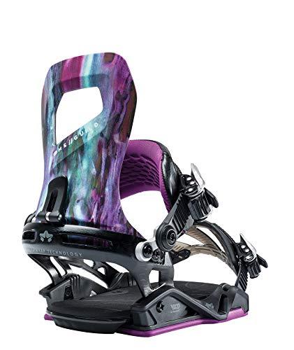 Roma Snowboards Guild Snowboard - Encuadernación para Mujer (tamaño pequeño/Mediano), Color Morado