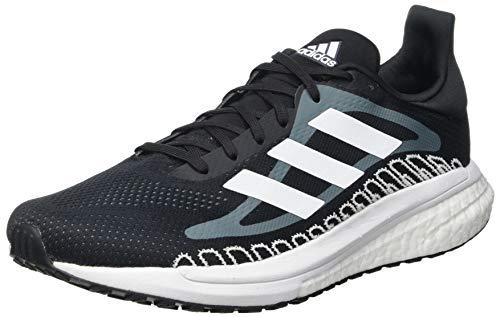 adidas Solar Glide ST 3 W, Zapatillas de Running Mujer, NEGBÁS/NEGBÁS/NEGBÁS, 38 2/3 EU