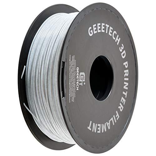 GEEETECH Filamento PLA 1,75 mm, per stampante 3D, filamento PLA, 1 kg, 1.75mm, Marmo