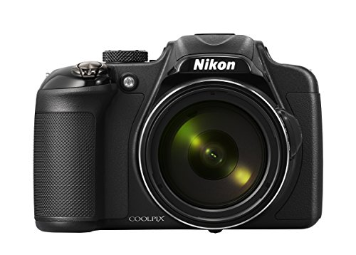 Nikon COOLPIX P600 16.1 MP Wi-Fi CMOS Digital Camera with 60x Zoom NIKKOR Lens and Full HD 1080p Video (Black) (Discontinued by Manufacturer) (Renewed)
