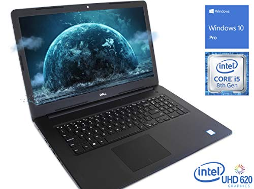 Dell Inspiron 3583 Laptop, 15.6' HD Touch Display, Intel Core i5-8265U Upto 3.90GHz, 16GB RAM, 256GB NVMe SSD, HDMI, Card Reader, Wi-Fi, Bluetooth, Windows 10 Pro S