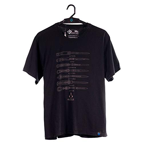 Camiseta Hidden Blade, Assassin´s Creed, Masculino, Preto, 3G