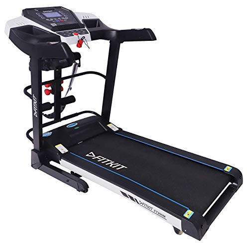 Fitkit FT200M 2.25HP (4.5HP Peak) Motorized Treadmill With Free Diet & Fitness Plan