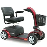 Pride Victory 10 4-Wheel Scooter - Candy Apple Red - S710S710-RED