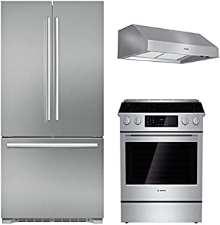 Bosch 3-Piece Stainless Steel Kitchen Package with B21CT80SNS 36