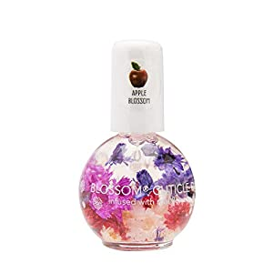 Beauty Shopping Blossom Scented Cuticle Oil (0.42 oz) infused with REAL flowers – made in USA