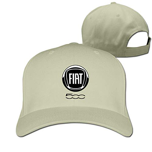 New Personalized FIAT Automobiles Logo Cool 100% Cotton Cricket Cap for Mans Casquette Natural,Hüte, Mützen & Caps