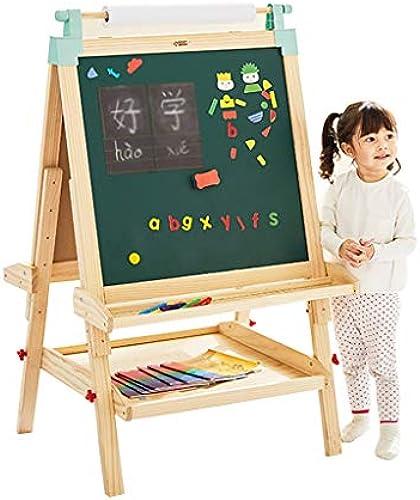 Kinder-Zeichenbrett Kann angehoben und gesenkt Werden Nach Hause Unterricht magnetische l hbare Weißboard überGröße Kinder Doppelseitige Schreibtafel Graffiti-Board Tafeln