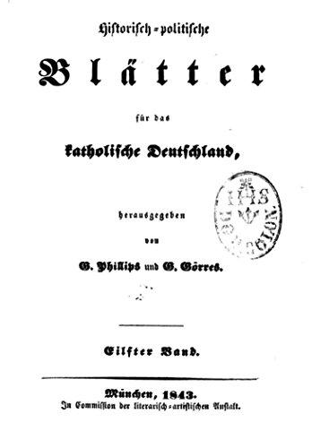 Historisch-politische Blätter für das katholische...