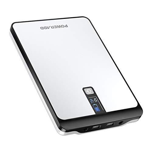 POWERADD Pilot Pro2 Power Bank de 23000mAh de Alta Capacidad Batería Externa para para iPhone iPad Samsung Dispositivos Android Tablets 2 Salidas USB, Potencia de Salida DC 5V 9V,12V,16V,19V,20V