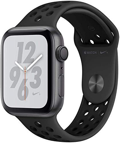 Apple Watch Nike+ Series 4 44mm (GPS) - Caja De Aluminio En Gris Espacial / Antacita/Negro Nike Sport Correa (Reacondicionado)