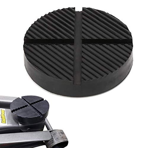 GeeWatom Universal Floor Jack Rubber Pad Jack Pad Adapter Pinch Weld Side Frame Rail Protector Puck/Pad (1 Pack)