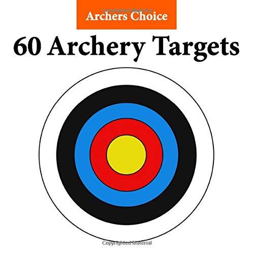 Archers Choice 60 Archery Targets: Paper Archery Targets | Archery Target | Arrow Target | Crossbow Target