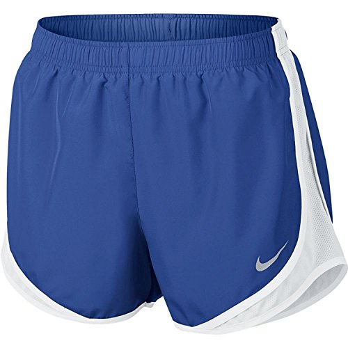 Nike Women's Dri-fit Tempo Track 3.5 Short (Game Royal/White/White/Wolf Grey, Medium)