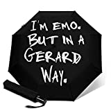 Soy Emo But in A Gerard Way- Paraguas automático con tres pliegues