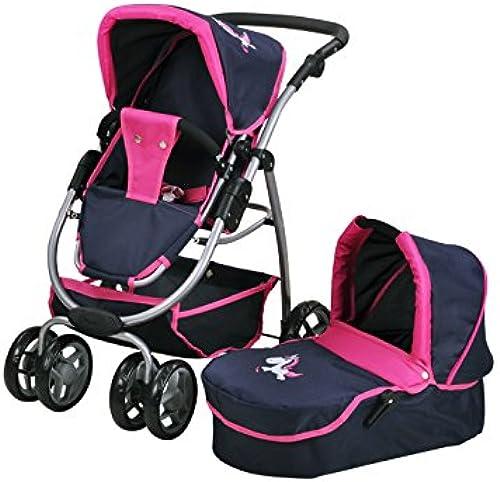 online barato Knorrtoys 90776 Knoortoys Coco-UMA - Carrito de de de muñecas, Diseño de Unicornio, Color azul  Seleccione de las marcas más nuevas como