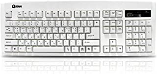 QSENN SEM-DT35 Gaming Keyboard in EN/KR version PS/2 (White)