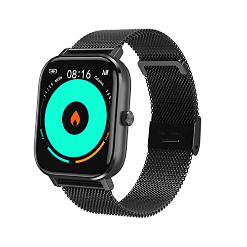 Monitoreo De ECG De Hombres Smart Watch Y Women's IP67 Responsable Bluetooth Call Health and Sleep Management Aplicable A Android iOS,E
