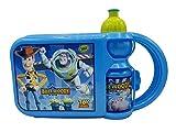 P.I.Sport N.Y. Juego Lunch Box Plus Botella, Multicolor Bolsa merienda con sandwichera y cantimplora Toy Story