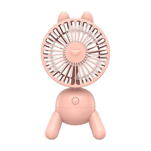 TIANYIA HEZB Mini Ventola da Desktop Ultra- Tranquille Pulpy-Like-Like- Like Style Mini Ventola da Tavolo 4 Ingranaggi a 80 Gradi in Forma rotabili for Il Campo della Stanza (Color : Pink)