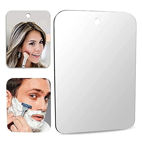 Square Anti Fog Makeup Mirror Ins Square Round Acrylic Decorative Mirror Home Decor Bathroom Cosmetic Mirror Beauty Tools