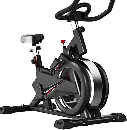 ZOUSHUAIDEDIAN Cubierta de Bicicleta de Ejercicios Cubierta Ciclismo Bicicleta estacionaria, Asiento Ajustable y Soporte for el Manillar, la Tableta, Zona Estable y Suave for el hogar Cardio Workout
