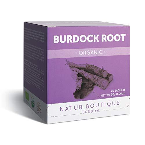 Natur Boutique Organic Burdock Root Tea, 20 sachets