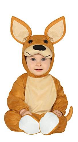 Guirca Känguru Baby Kostüm - Größe 74-92 - Fasching Karneval, Größe:74/80