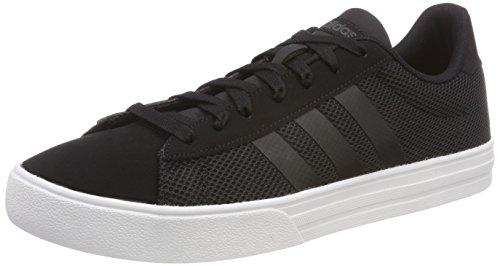 adidas Daily 2.0, Zapatos de Baloncesto Hombre, Negro (Cblack/Cblack/Carbon 000), 46 2/3 EU
