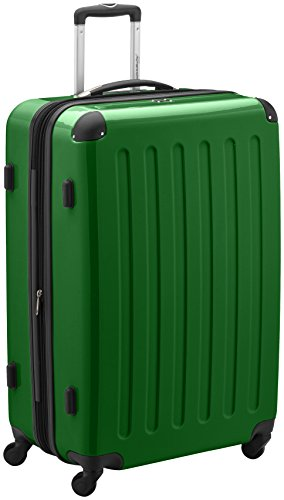 HAUPTSTADTKOFFER - Valigia Rigida Alex, TSA, Taglia 75 cm, 119 Litri, Colore  Verde