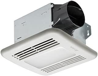 Delta Electronics (Americas) Ltd. ITG80LED Delta BreezIntegrity Series 80 CFM Fan/Dimmable LED Light, 11.3W, 1.3 Sones,